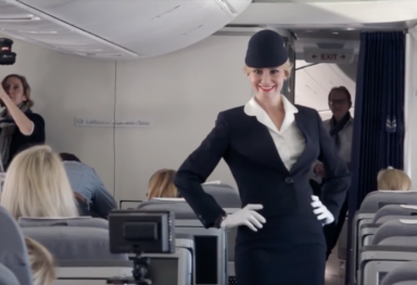 LUFTHANSA FASHION FLIGHT