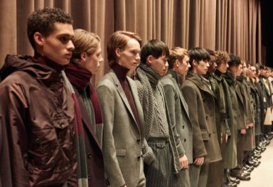 HUGO BOSS MENSWEAR NYC 2017